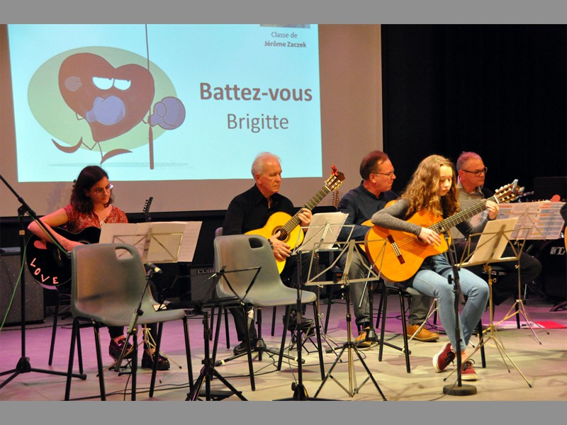 Atelier Guitare d'accompagnement